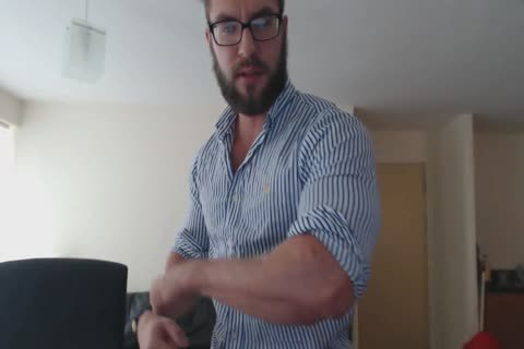 hairy British Verbal Muscle master