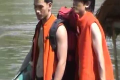 Thai teens naked On A River