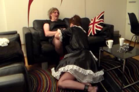 Sissy Sarah Servicing Her CD female-taskmaster