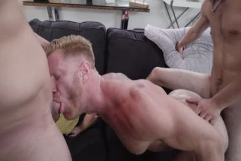 Stepdad threesome