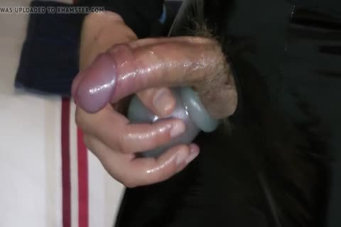Masturbation In Varnish And Leather Pants With weenie gap